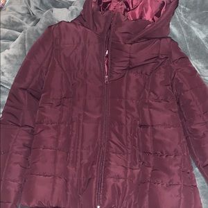 Maroon Light Winter Coat!